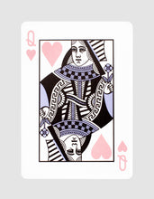 Malibu V2 Playing Cards Queen of Hearts