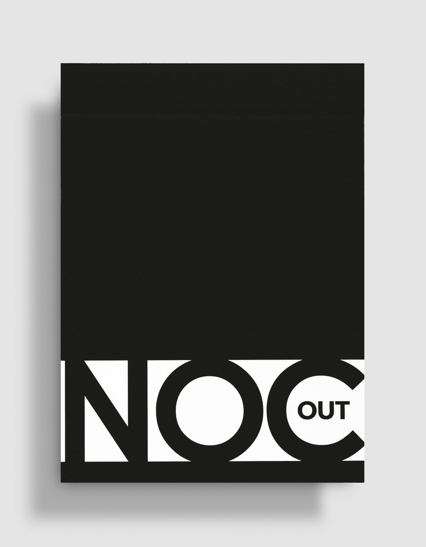 NOC Out Playing Cards: Black