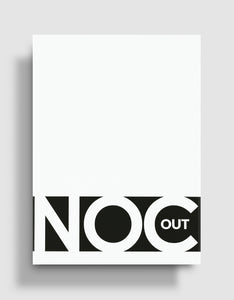 NOC Out Playing Cards: White