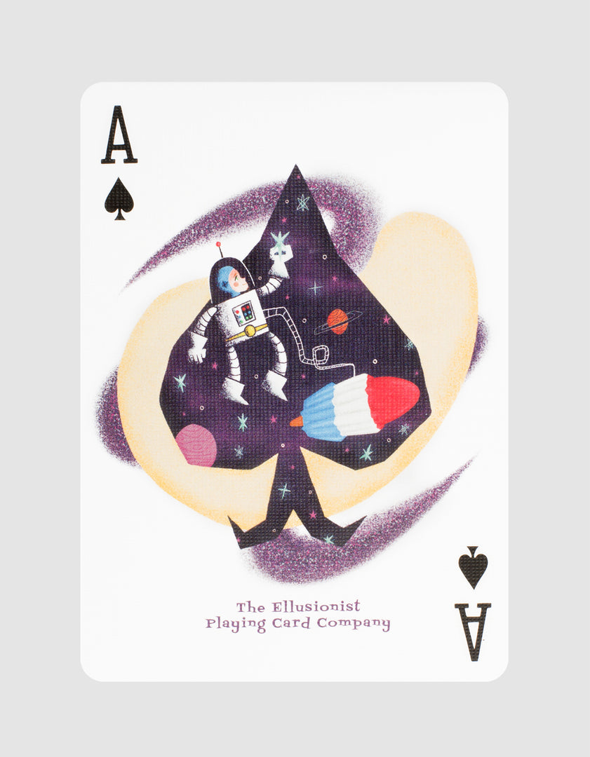 Rockets Playing Cards Ace of Spades