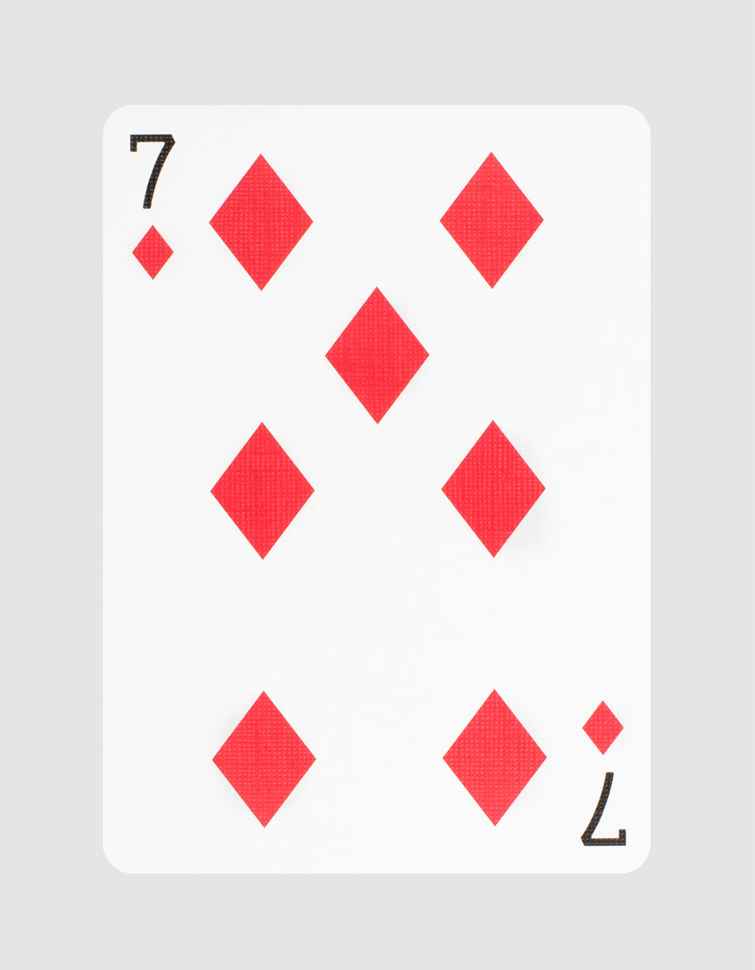 Rockets Playing Cards Seven of Diamonds