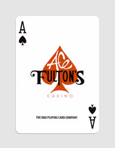 Ace Fulton's Casino, Vintage Back