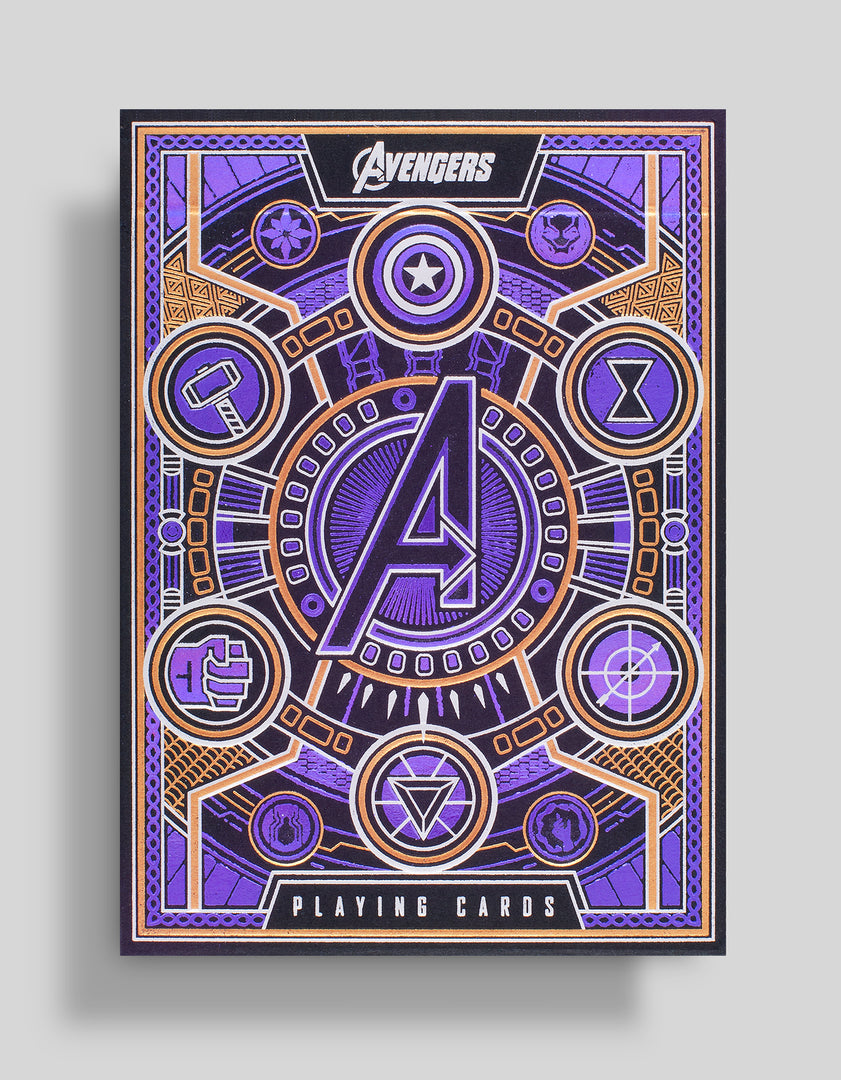 Avengers Playing Cards by theory11