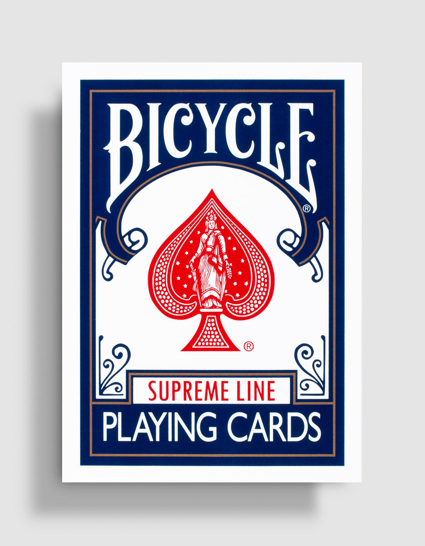Bicycle Supreme Line: Blue