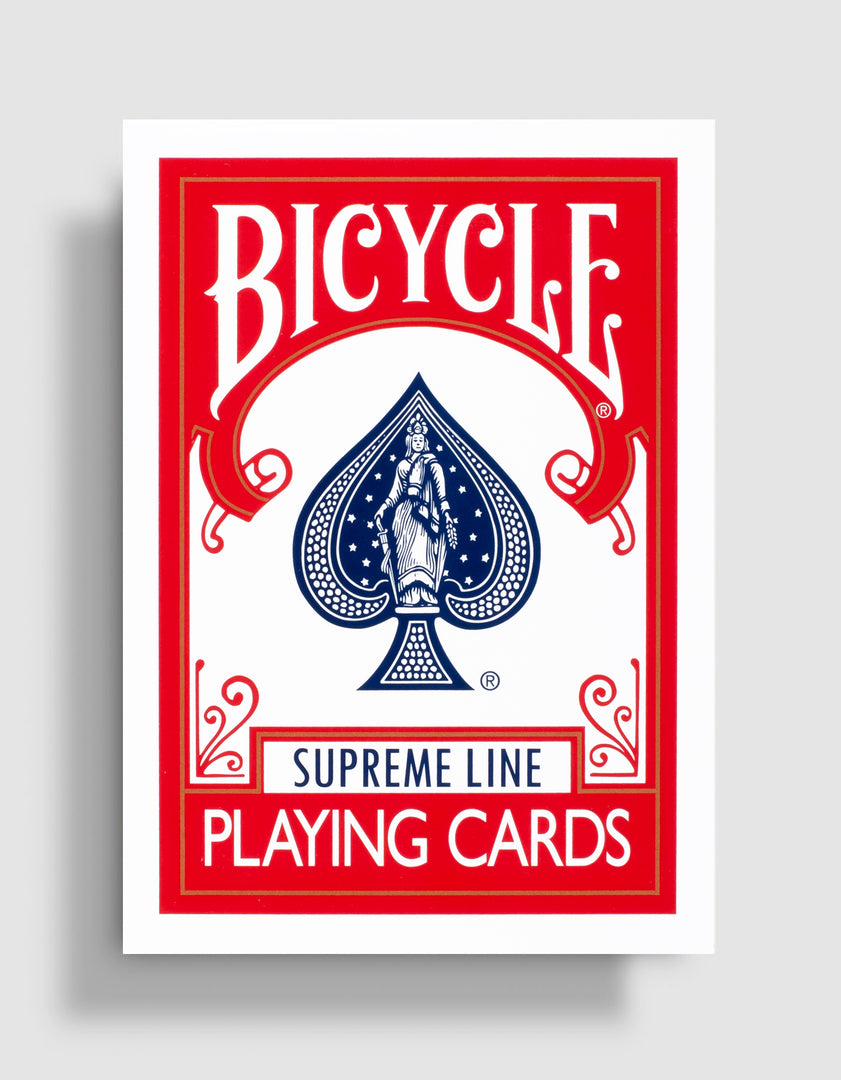 Bicycle Supreme Line: Red