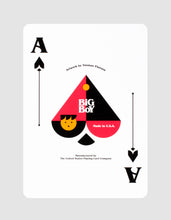 Big Boy No. 2 Playing Cards Ace of Spades