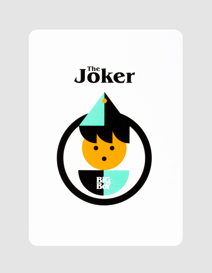 Big Boy No. 2 Playing Cards Joker
