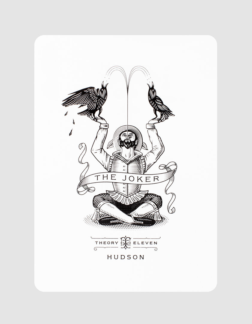 Black Hudson Playing Cards Joker