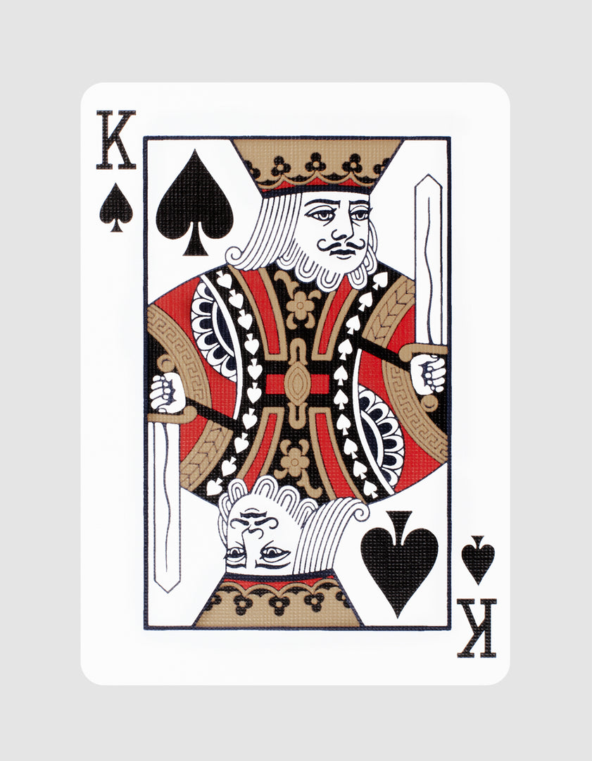 Black Hudson Playing Cards King of Spades