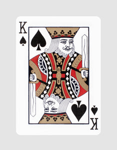 NOC x Midnight Playing Cards by theory11 King of Spades