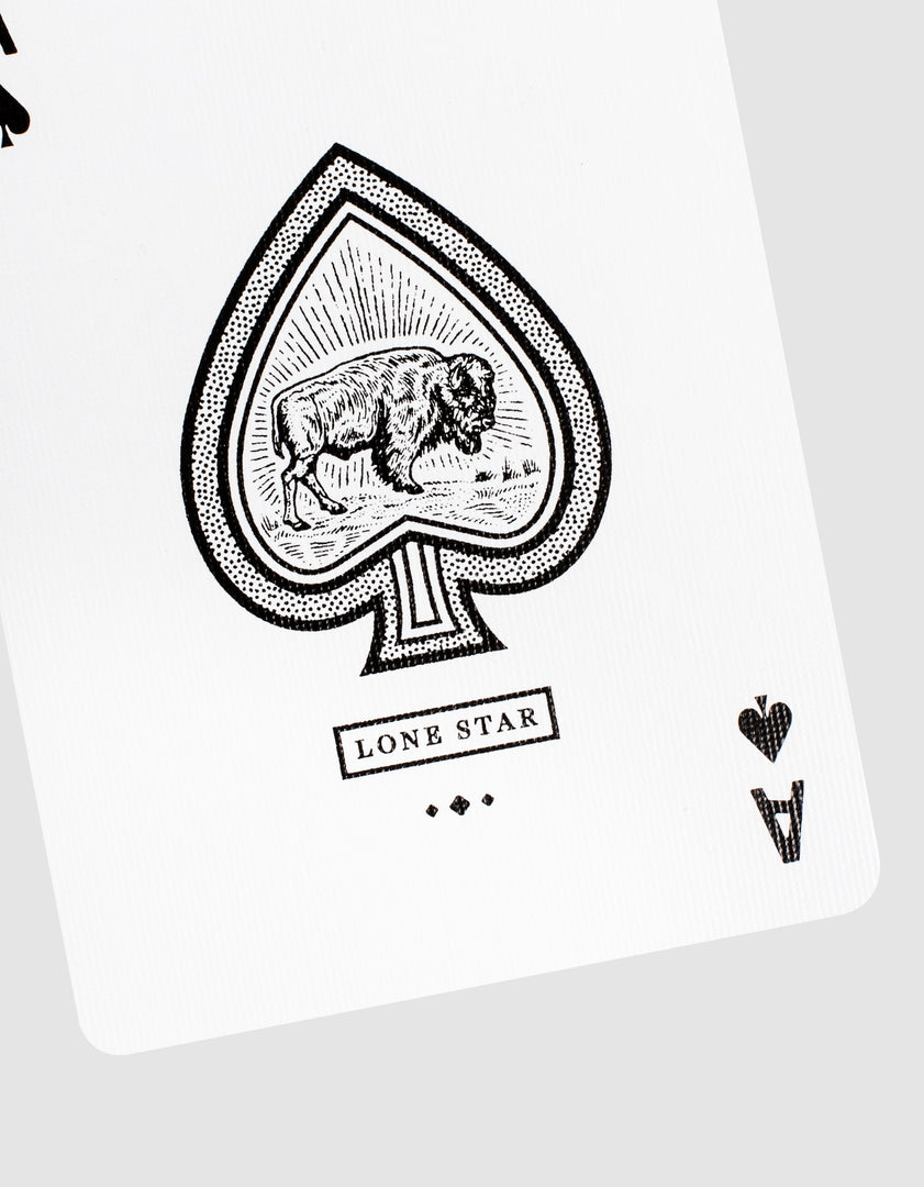 Lonestar Playing Cards Ace
