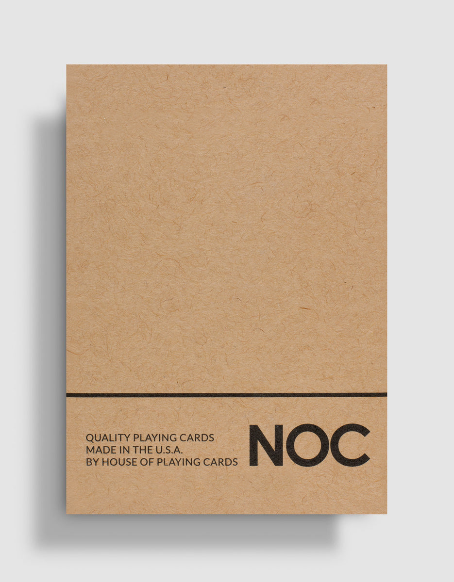 NOC on Wood (Brown)