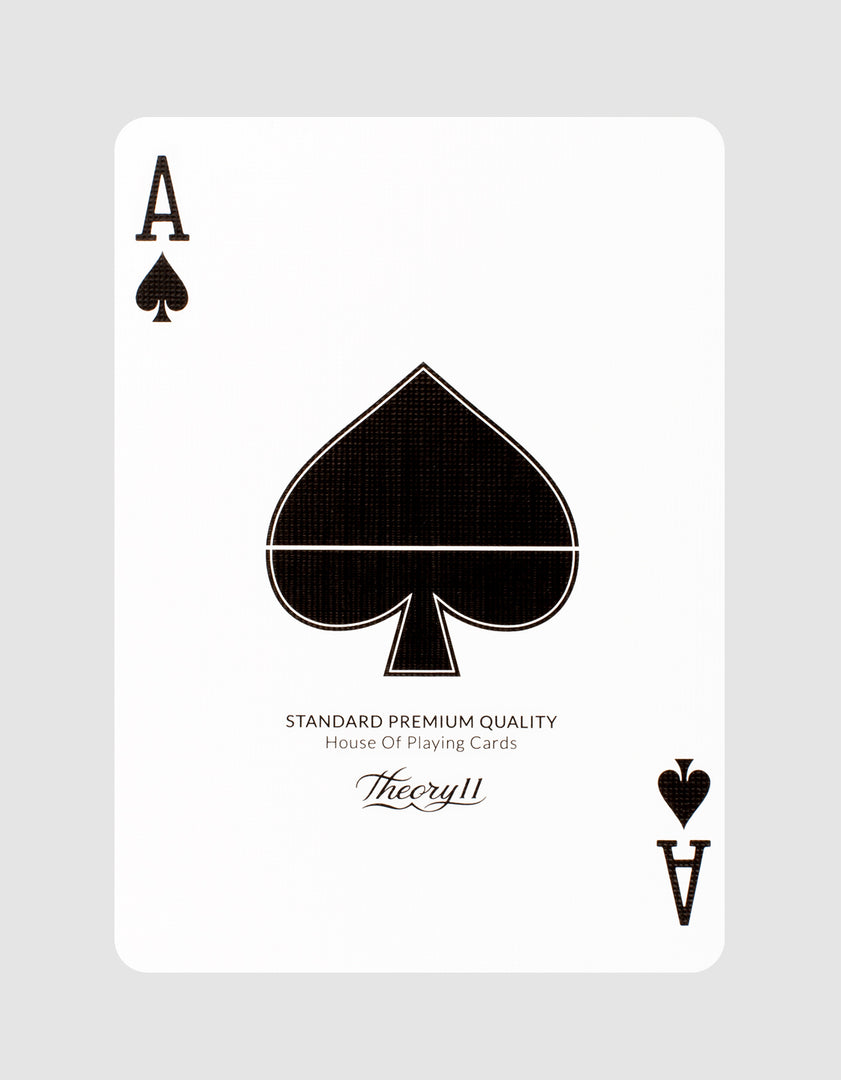 NOC x Midnight Playing Cards by theory11 Ace of Spades