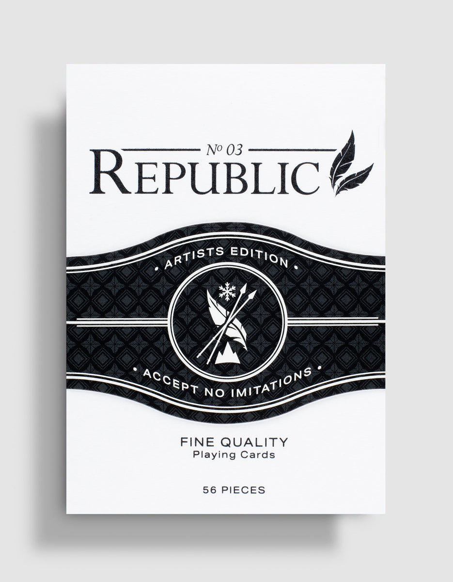 Black Republics Deck: Artist Edition