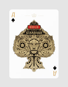 Standards Playing Cards Black by Art of Play Ace of Spades