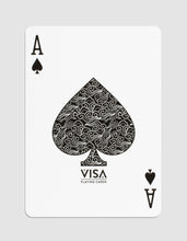 VISA Playing Cards: Green