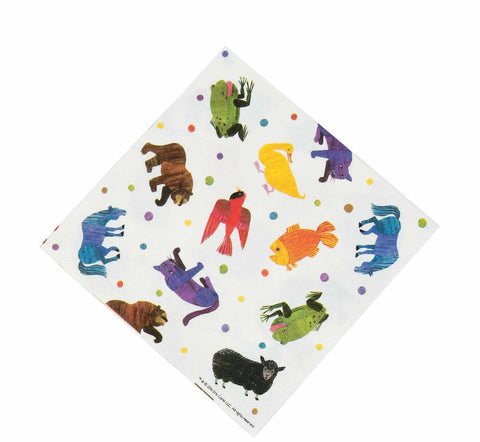 Brown Bear Lunch Napkins