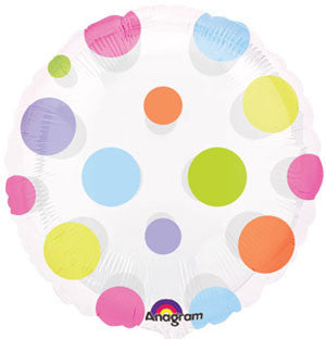 Dots Non-Foil Balloon