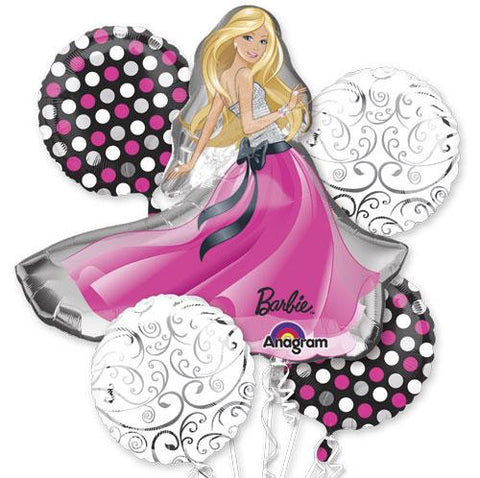 Barbie Glamour Balloon Bouquet