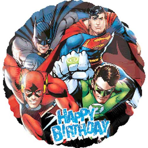 Justice League Birthday Foil Balloon