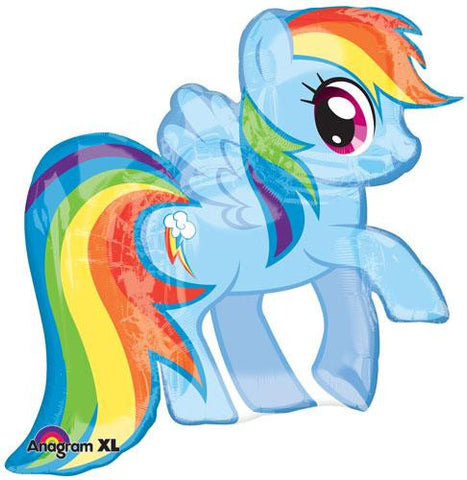 My Little Pony Rainbow Dash Shape Balloon