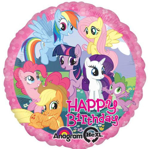 My Little Pony Birthday Foil Balloon