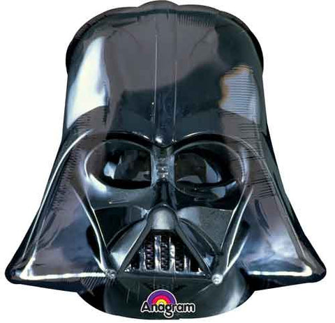 Star Wars Darth Vader Helmet Shape Balloon