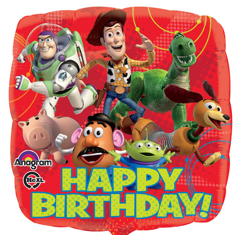 Happy Birthday Toy Story Gang Balloon