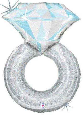 Platinum Ring Shape Balloon