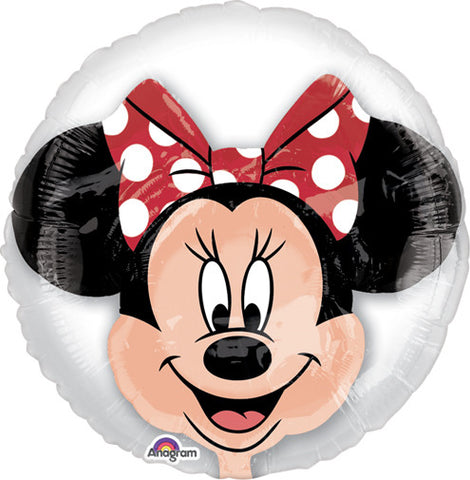 24 Inch Shape Insider Minnie Mouse Balloon