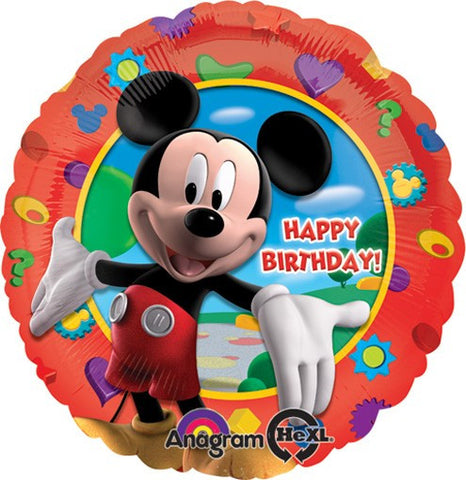 Birthday Mickey Clubhouse Balloon