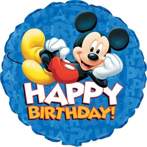 Birthday Mickey Mouse Balloon