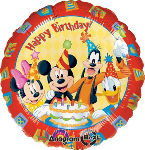 Birthday Disney Friends Balloon