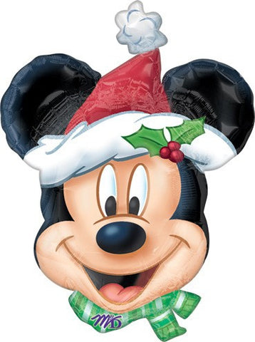 Christmas Mickey Balloon