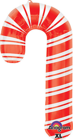 37 inch Holiday Candy Cane Balloon