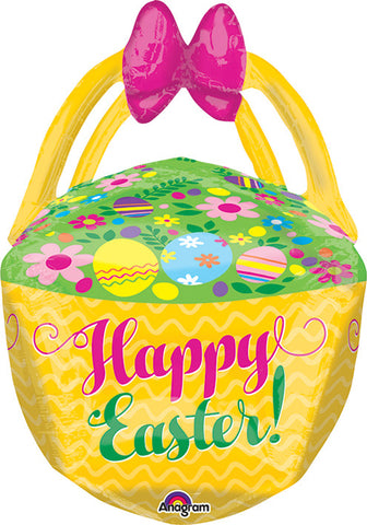 25 Inch Easter Basket Balloon
