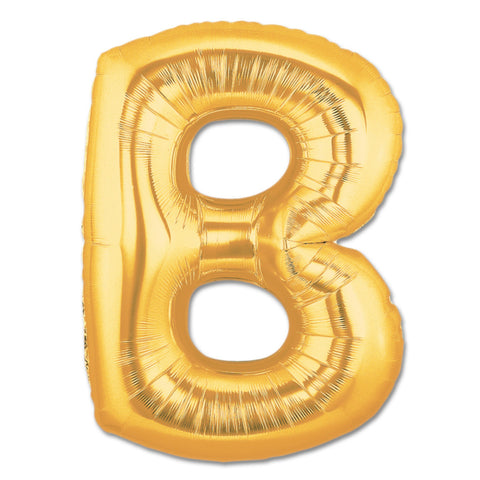 Gold Letter Balloon- B