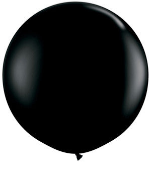 36 inch Fashion Onyx Black Balloon