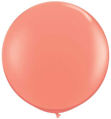"Coral 36"" Jumbo Solid Balloon"