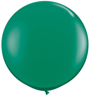"Green 36"" Jumbo Solid Balloon"