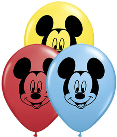 Mickey Mouse Face Assortment