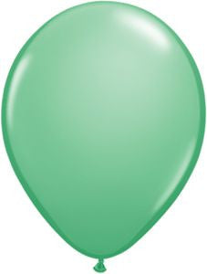 "Green Mint 11"" Solid Balloons"