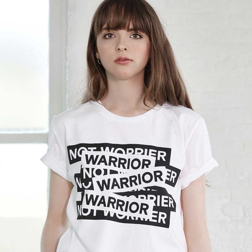 Maison de Choup T-Shirt The Warrior not Worrier T-Shirt