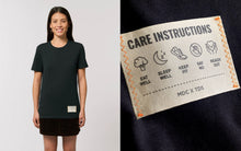 Load image into Gallery viewer, care instructions tee