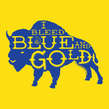 Blue and Gold Buffalo