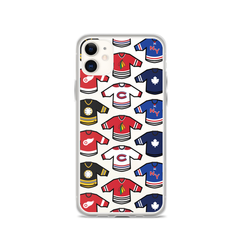 Original Six Mini-Jerseys Phone Case