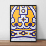 Purple and Gold - Poster - 2