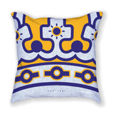 Purple and Gold - Pillow - 1