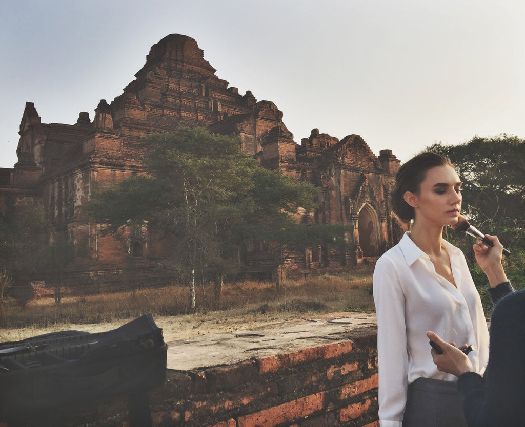 CAMPAIGN SHOOT IN BAGAN, MYANMAR