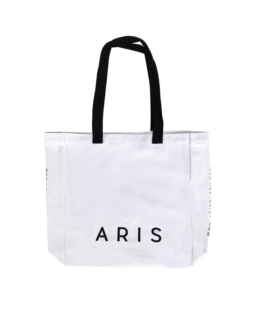 Aris Blanc Canvas Tote - Dress For Success